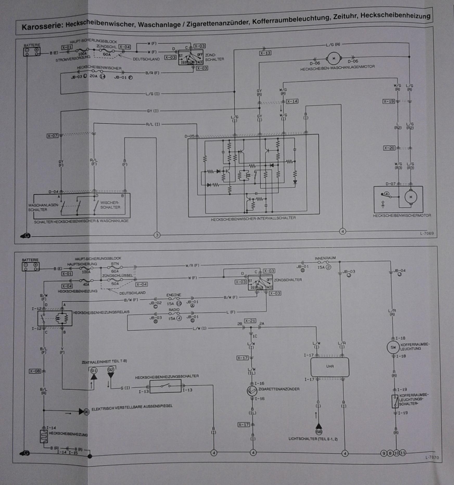 Schön Mazda 3 Scheinwerfer Schaltplan Galerie - Der Schaltplan ...