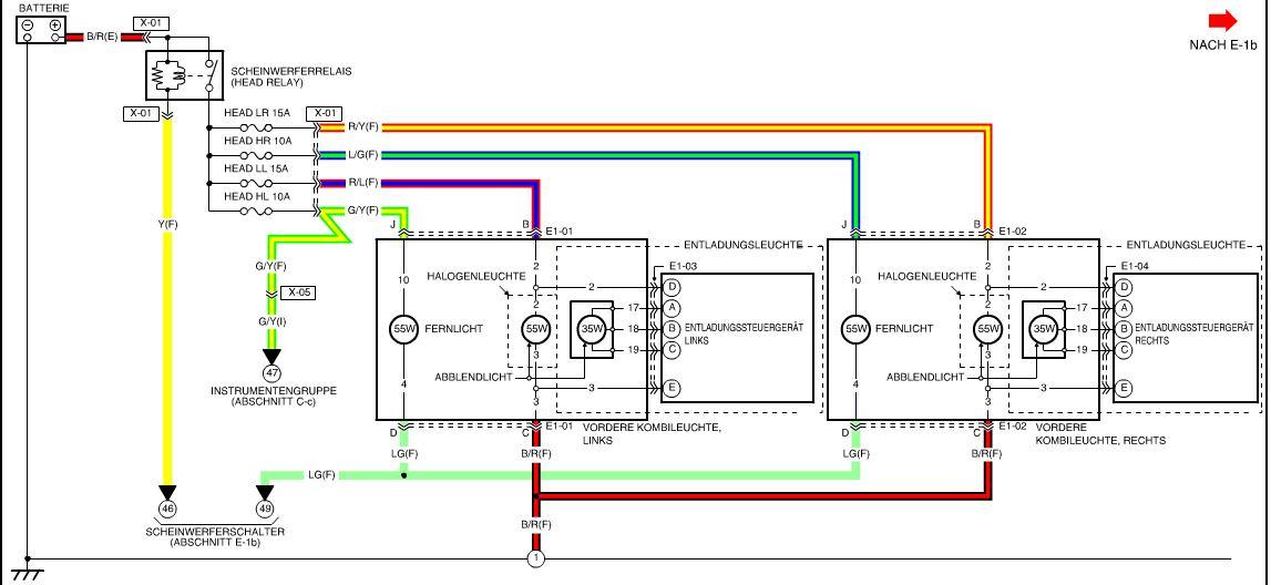 Erfreut Mazda 3 Scheinwerfer Schaltplan Bilder - Elektrische ...