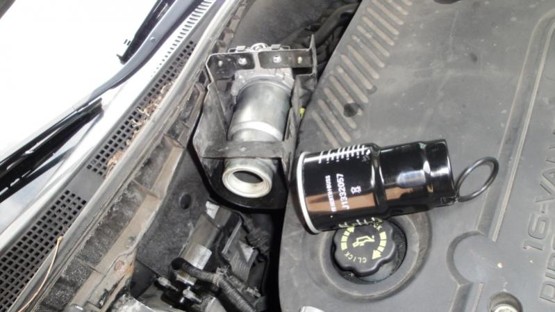 mazda cx 7 kraftstofffilter wechseln