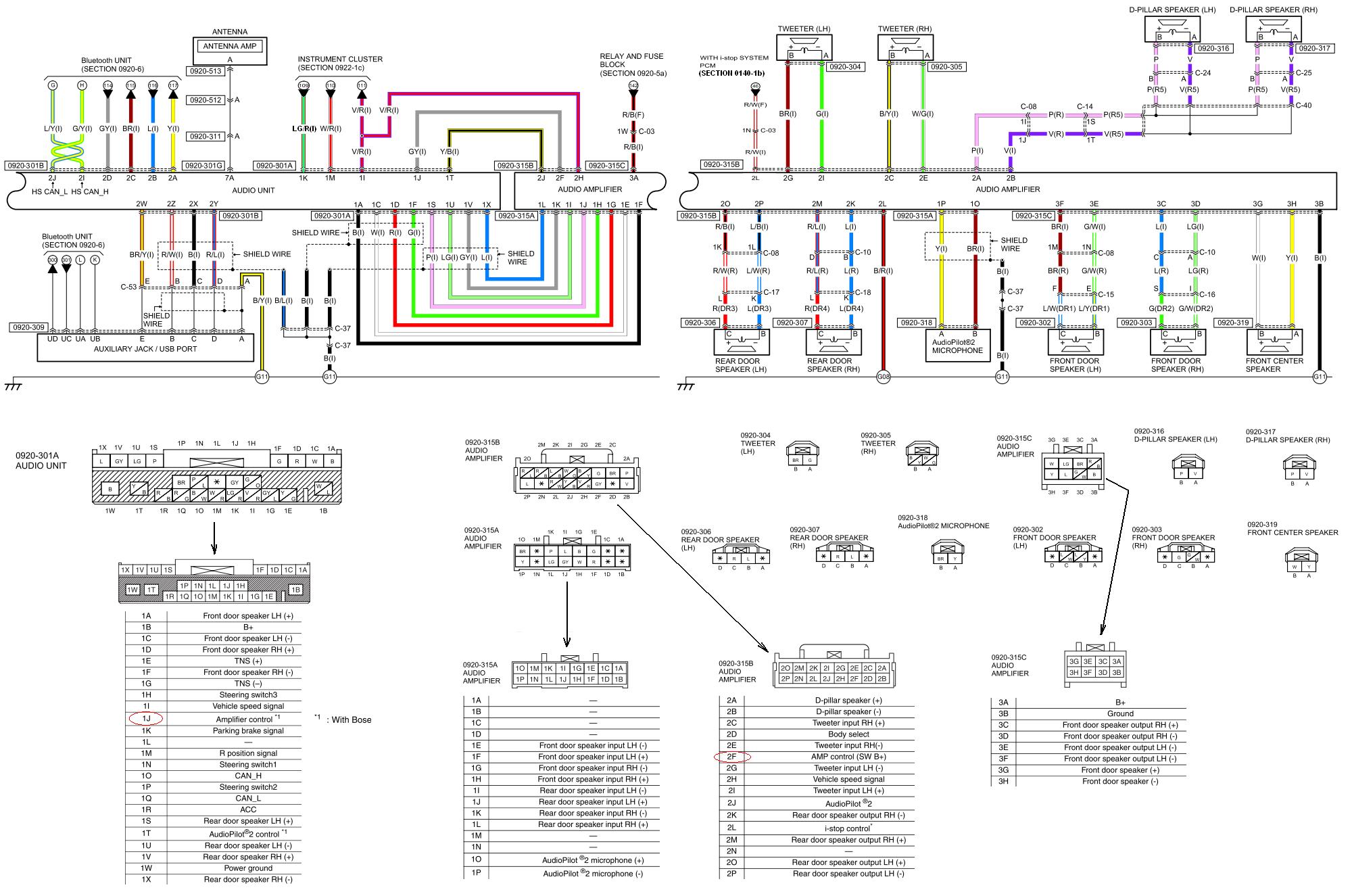 Großartig Bose Auto Verstärker Schaltplan Zeitgenössisch ...