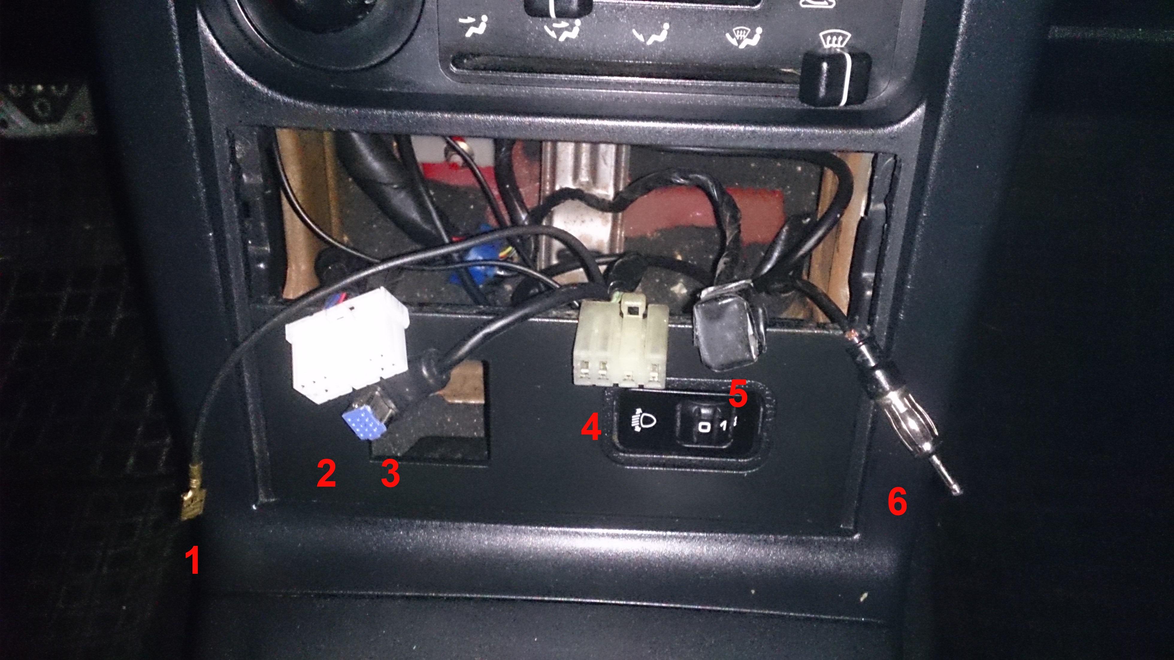 MX-5 (NA) - Kabelerklärung für Dummies bitte..