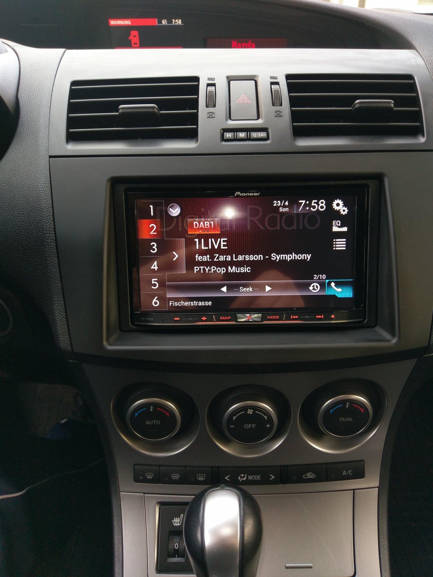mazda 3 mps bl 2012 bose modernes radio. Black Bedroom Furniture Sets. Home Design Ideas