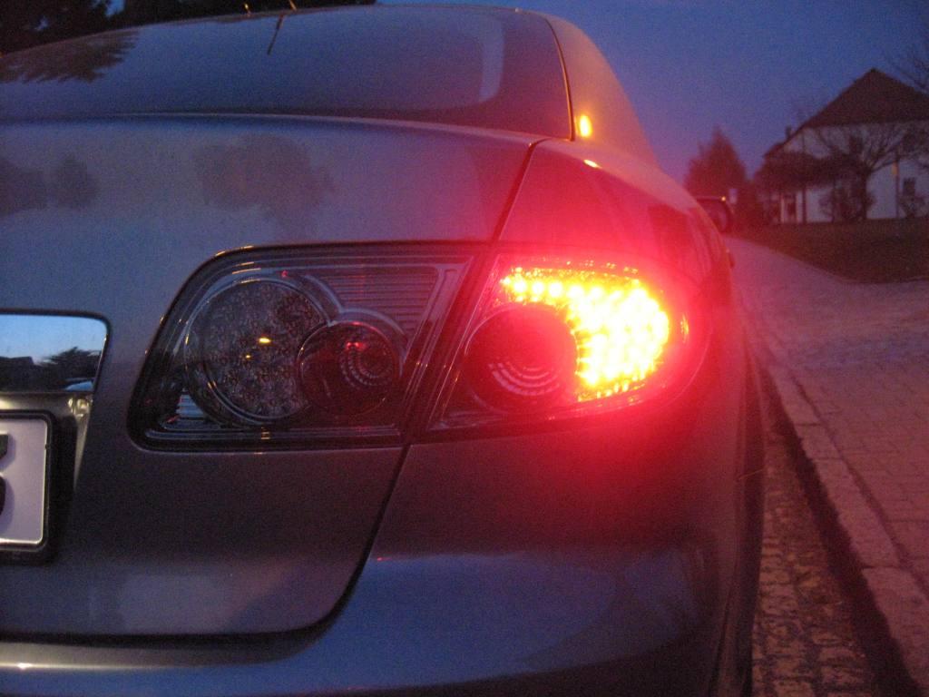 Mazda 6 LED Rückleuchten aus den USA?