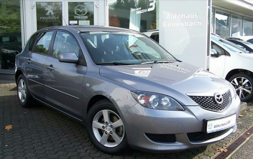 Mazda 3 Bk Titangrau Metallic