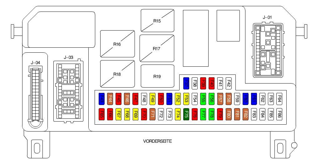 Wunderbar 2006 Mazda 3 Sicherungskasten Diagramm Zeitgenössisch ...