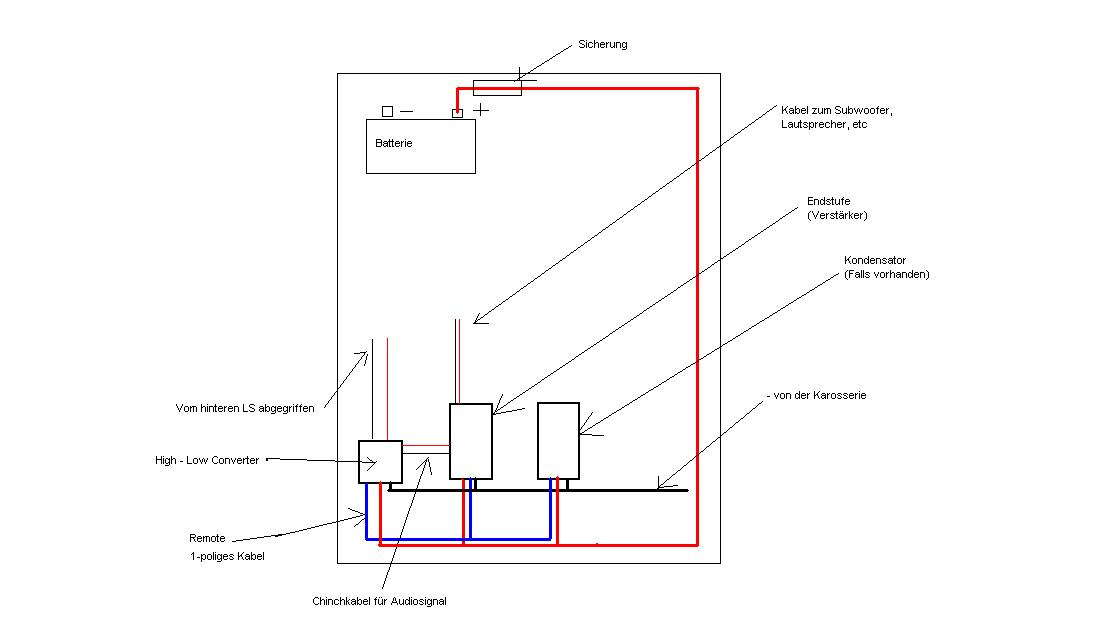 Beste Woofer Schaltplan Zeitgenössisch - Elektrische Schaltplan ...