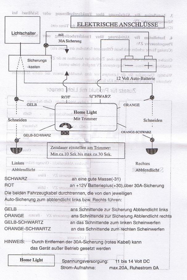 8L] Schaltplan für Coming Home Modul - Audi A3 Forum für Tuning ...